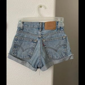Levi's Shorts - levi jean shorts xxs 22 23 super cute